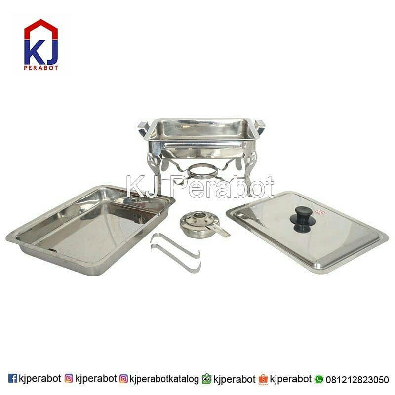 CHAFING DISH MASPION PAN WITH STOVE
